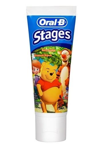 Oral-B Oral B Pro Expert Stages Çocuk Macunu 75 Ml Renkli